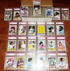 1980 TOPPS 96% COMPLETE SET 22 PSA 9 MINT CARDS-WALTER PAYTON 160 PHIL SIMMS 225