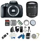 Canon EOS Rebel T5i DSLR Camera Body Kit + 2 Lens: 18-55mm IS STM, 75-300mm III