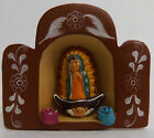 Lady Of Guadalupe Religious Miniature Figurine Virgin Mary Statue New 2 3/4