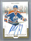11-12 PANINI PRIVATE SIGNINGS PAUL COFFEY AUTO OILERS ON-CARD-AUTO