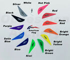 Bohning Blazer Vanes 12 36 50 or 100 Pack Arrow Fletching 11 Color Choices