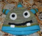 Childrens Cheek to Cheek Crochet Beanie Crazy Hat for Toddlers