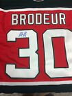 Signed Vintage Martin Brodeur Jersey with COA