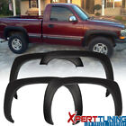 99-06 Chevy Silverado OE Factory Style Fender Flares Smooth Black PP 4Pc