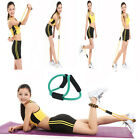 2015Hot Sale Women Yoga Training Band Tube Body Building Fitness Sport Pull Rope