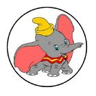 48 Dumbo ENVELOPE SEALS LABELS STICKERS 12 ROUND