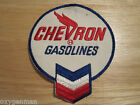 VINTAGE Chevron Oil Gas Gasoline Employee Uniform Advertising Cloth Patch LARGE