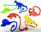 100 pcs Sticky Dinosaur 6 asst Birthday Party Favors Pinata Gift Vending Toys