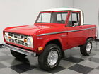 Ford  Bronco READY TO ROLL HALF CAB EB 289 V8 MANUAL RESTORED 4X4 FOR STREET OFF ROAD