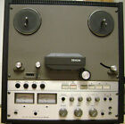 ** DENON DH-510 1/2 track 15ips TAPE RECORDER ** mix down mastering 1/4