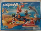 New! Playmobil 3664 - Beach with Lifeguard, JetSki and Surf Board - RARE!