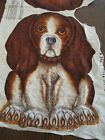 Vintage Beagle Puppy Cut N Sew Fabric Panel Pillow cut and sew Basset Hound Dog