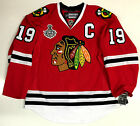 JONATHAN TOEWS CHICAGO BLACKHAWKS 2015 CUP EDGE AUTHENTIC REEBOK JERSEY 7287A