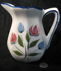VINTAGE RCCL PORTUGAL HANDPAINTED NUMBERED WATER, BEVERAGE OR DECORATIVE PITCHER