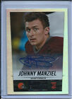 2014 PANINI SCORE JOHNNY MANZIEL #387 AUTOGRAPH NFL FOOTBALL ROOKIE CARD