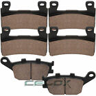 Front Rear Brake Pads For Honda CBR600F4 CBR600F4i Super Sport 600 2001-2006