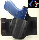 GLOCK LEATHER KYDEX HYBRID HOLSTER IWB INSIDE WAIST BAND CONCEALED CONCEPT