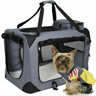 Pet Dog Carrier Portable House Soft Sided Cat Comfort Travel Tote Bag Oxford