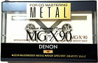 DENON MG-X90 SEALED Metal Cassette Tape Japan High Specific Gravity Half Kassete