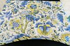 Waverly Home Classics 100% Cotton Lined Fabric Valance Fabric Remnant