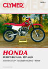 CLYMER Repair Manual for Honda XL/XR/TLR 125-200 1979-2003