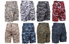 BDU Cargo Shorts Digital Camouflage Military Rothco