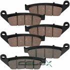 Front Rear Brake Pads For Honda GL1500CF Valkyrie 1500 Interstate 1999-2003