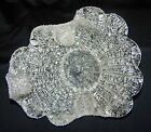 MURANO CLEAR TEXTURED GLASS DISH / BOWL