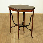 c1910 Antique Mahogany Edwardian Pie Crust Occasional End Side Table