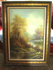 24 x 36 Original Oil on Canvas Signed in White REEVES Pro Framed FINE Art Piece