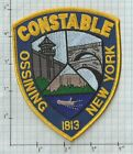 Ossining New York Constable Police Patch