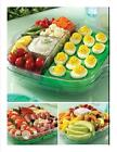 Large Pampered Chef Cool & Serve Square Tray