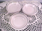 Homer Laughlin Restaurant Ware Lot 6 Fruit Bowls 3 Green Lines 4 1/4