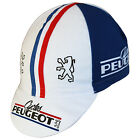 New Peugeot Retro Bicycle Cycling Cotton Cap Hat White Bianchi Cinelli Pinarello