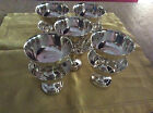 Silverplate vintage 10  ice cream/sherbet footed cups by William A. Rogers