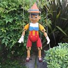 RARE Antique Handcrafted Wood Carved Pinocchio Marionette Puppet 1920's Disney