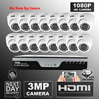 HD System kit 16 channel AHD 4MP DVR 3MP CCTV Home Video Camera Home Security