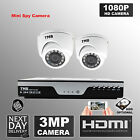 4 Channel 4MP DVR 3MP HD Outdoor Waterproof Security CCTV Camera Home System Kit