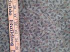 Cotton Fabric Quilting MODA 1.5 Yards Olive Army Green Floral Leaves Flowers