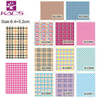 11 Sheets Lot Unique Nail Art Stickers Water Transfer Decals BLE2061 2071