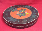 Vintage Chikaramachi Hand Painted Japan 7 Serving Dishes with Original Box