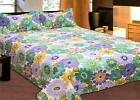 Brand New Reversible 3 Pc Quilt Set Size Queen/King Up To 6 Different Design