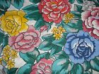 "Lightweight Cotton Fabric – Large Print Floral Fabric – BTHY – 50"" Wide – #785"