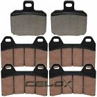 Front Rear Brake Pads For Aprilia SL1000 Falco 1000 2000 2001 2002 2003