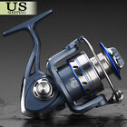 12+1BB Fishing Reel Spinning Metal Spool Reels Ball Bearings High Speed 551
