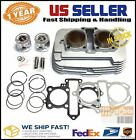 Honda Rebel 250 CMX250 Engine Cylinder Assembly Replacement with Piston Gasket