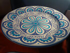 Deruta Pottery-14inch/bowl/centerpiece made/painted byhand-Italy.   { I }