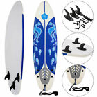 Goplus 6 Surfboard Surf Foamie Boards Surfing Beach Ocean Body Boarding White