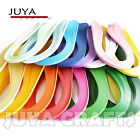 JUYA 5mm width420mm lengthPure Color Quilling Paper17Colors1700 strips total
