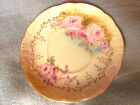 ROYAL CROWN Vintage Saucer/Plate Chantilly Rose Hand Painted 1937